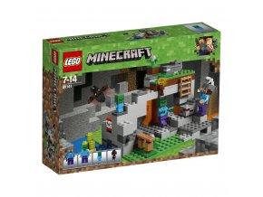 LEGO 21141 Minecraft jeskyně