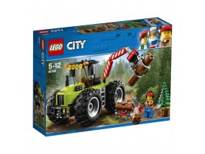 LEGO 60181 City Traktor do lesa