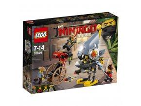 LEGO 70629 Ninjago Útok piraně