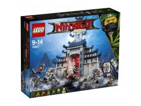 LEGO 70617 Ninjago Chrám nejmocnější zbraně