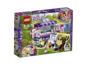 LEGO 41332 Friends Emma a umělecký stojan