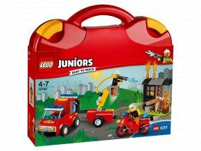 LEGO 10740 Juniors Kufřík hasičské hlídky