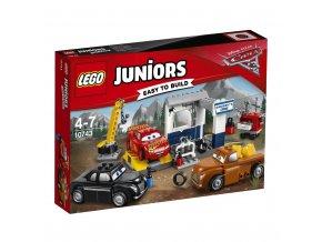 LEGO 10743 Juniors Čmoudíkova garáž