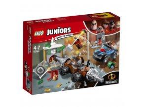 LEGO 10760 Juniors Bankovní loupež Podkopávače