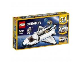 LEGO 31066 Creators Vesmírný průzkumný raketoplán