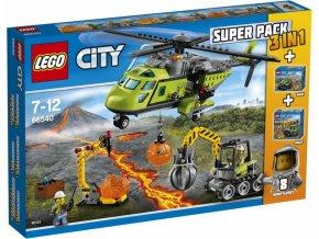LEGO 66540 CITY - Sopeční průzkumníci Superpack 3v1