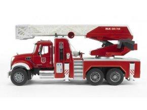 BRUDER 2821 Nákl. auto MACK Granit - požární žebřík