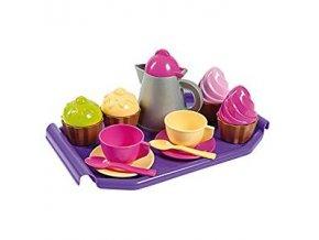 Androni - tác se šálky, konvici a cup cake 4ks