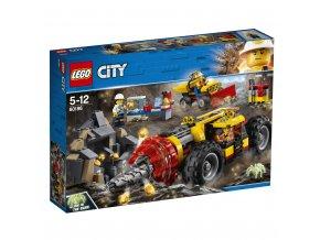 LEGO 60186 City Důlní těžební stroj