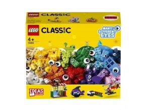 LEGO 11003 Classic Kostky s očima