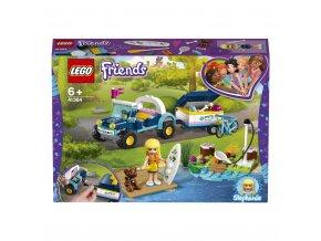 Lego 41364 Friends Stephanie a bugina s přívěsem