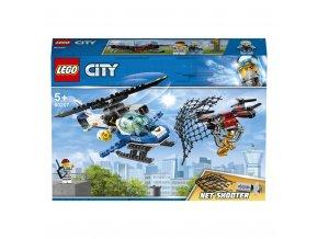 Lego 60207 City Letecká policie a dron