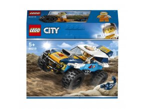 Lego 60218 City Pouštní rally závoďák