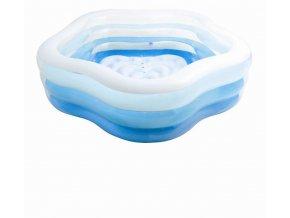 Intex bazén kytka 185x180x53cm