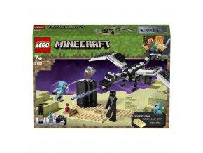 LEGO 21151 Minecraft Souboj ve světě End