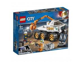 LEGO 60225 City Testovací jízda kosmického vozítka