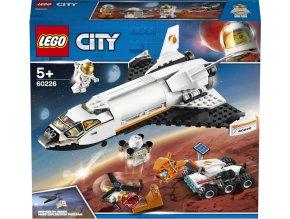 LEGO 60226 City Raketoplán zkoumající Mars