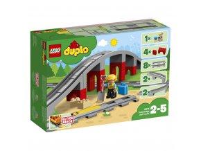 LEGO 10872 Duplo Doplňky k vláčku – most a koleje