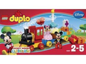 LEGO 10597 Duplo Přehlídka k narozeninám Mickeyho a Minnie