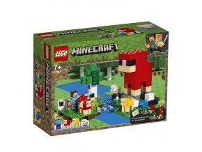 LEGO 21153 Minecraft Ovčí farma