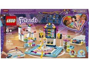 LEGO 41372 Friends Stephanie a gymnastické představení