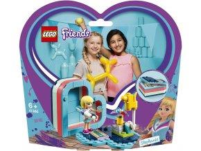 LEGO 41386 Friends Stephanie a letní srdcová krabička