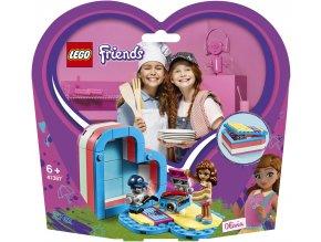 LEGO 41387 Friends Olivia a letní srdcová krabička