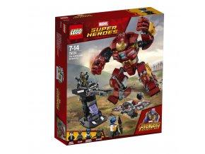 LEGO 76104 Super Heroes Střetnutí s Hulkbusterem