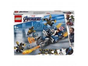 LEGO 76123 Super Heroes Captain America: útok Outriderů
