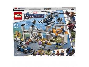 LEGO 76131 Super Heroes Bitva o základnu Avengerů