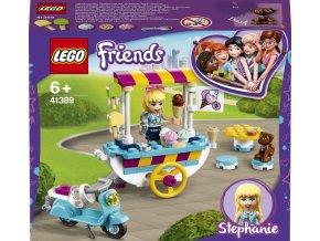 LEGO 41389 Friends Pojízdný zmrzlinový stánek