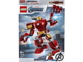 LEGO 76140 Super Heroes Iron Manův robot
