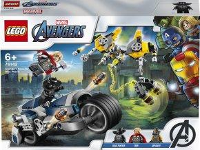 LEGO 76142 Super Heroes Avengers: Zběsilý útok na motorce