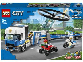 Lego 60244 City Přeprava policejního vrtulníku