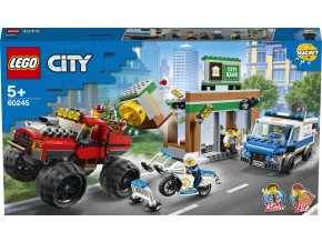Lego City Loupež s monster truckem