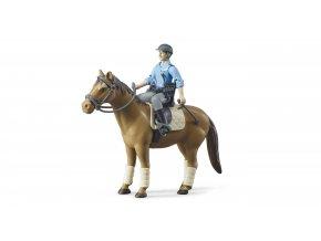 Figurka - policista, kůň