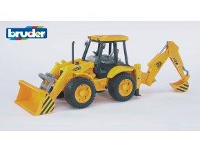 BRUDER 2428 JCB Žlutý BAG4CX s čelním nakladačem