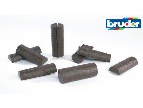 Náhradní špalky - 10ks značky Bruder - BR 2340