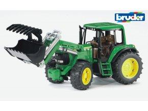Zelený TRAKTOR JOHN DEERE 6920 s nakladačem značky Bruder - BR 02052