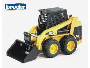 Žlutý NAKLADAČ CAT kolový značky Bruder - BR 02431