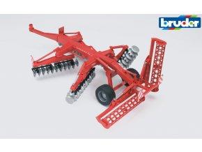 Diskový kypřič půdy  KUHN  XL značky Bruder - BR 02217