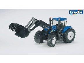 Modrý TRAKTOR NEW HOLLAND T8040 s nakladačem značky Bruder - BR 03021