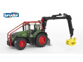 BRUDER 3042 Zelený TRAKTOR FENDT 936 VARIO lesní traktor