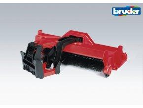 BRUDER 2583 Zametací stroj pro M. B. UNIMOG a traktory