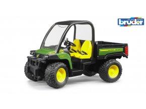 Zelené AUTO JOHN DEERE Gator XUV 855D značky Bruder - BR 02491