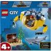 LEGO 60263 City Oceánská mini ponorka