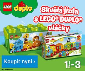 LEGO DUPLO Vláčky