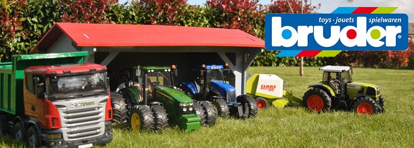 BRUDER Traktory a Nákladní auta