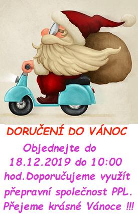 Doručení do Vánoc 2019