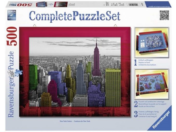 puzzle New York Panerama 500d Kompletni set Ravensburger 1